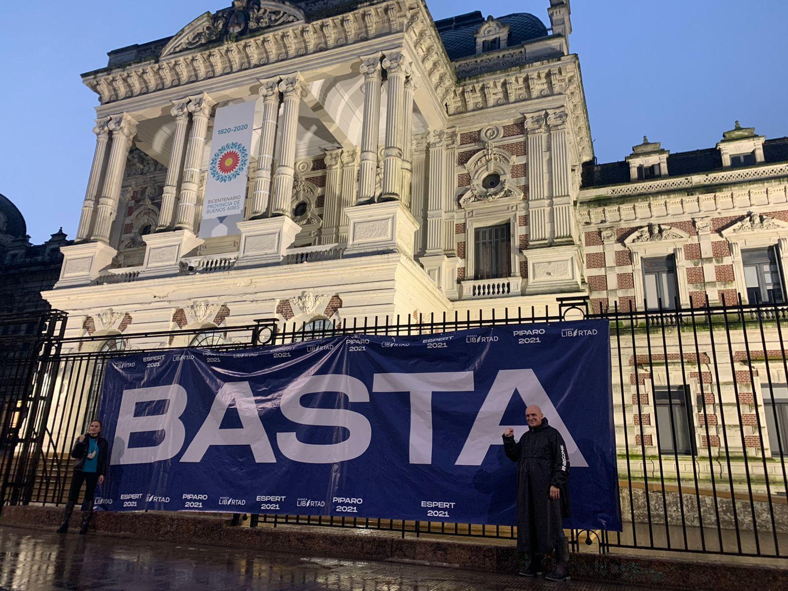 José Luis Espert cerró su campaña en La Plata