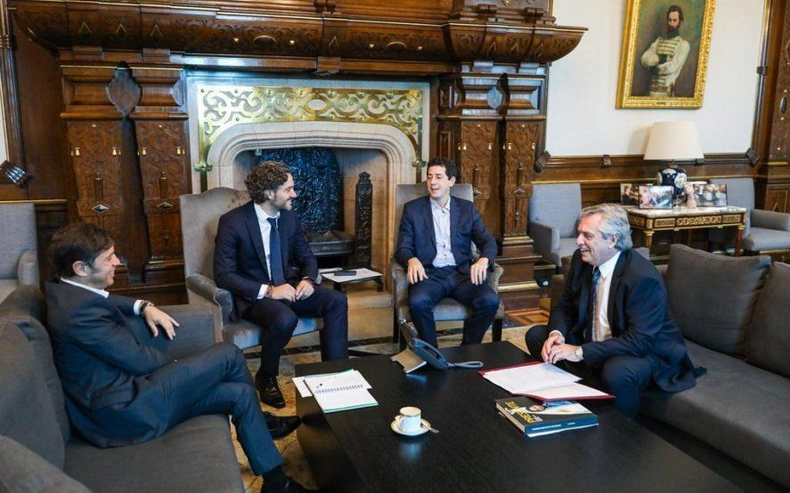 Kicillof acordó con Fernández que se reunirá con Frederic y Berni para salvar las diferencias