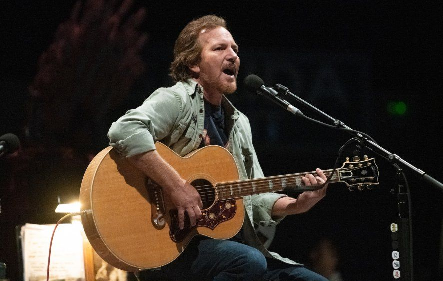 Eddie Vedder está preparando otro disco solista.