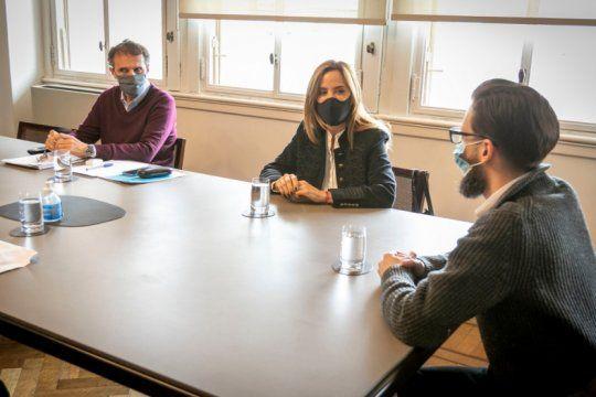 katopodis recibio a ministros bonaerenses y concejales por obras en la plata