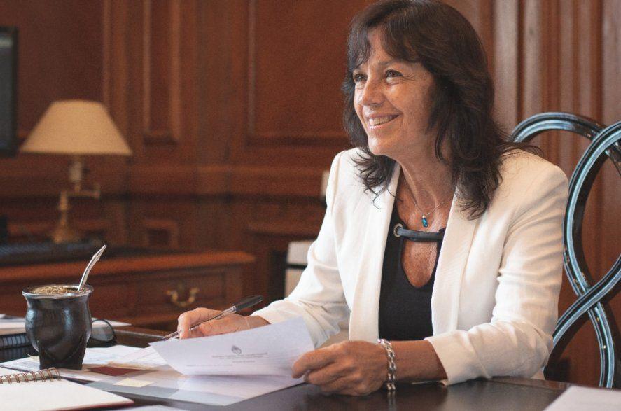 Vilma Ibarra, secretaria Legal y Técnica de la Nación y principal impulsora de la legalización del aborto .