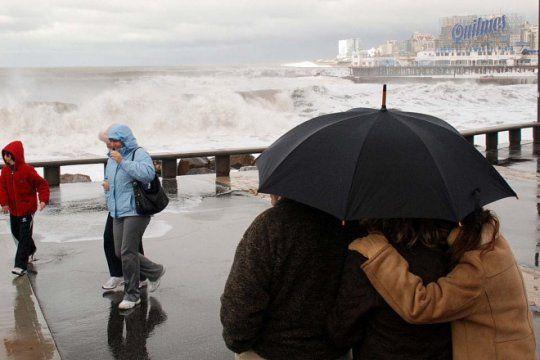 ¿que hace la gente en la costa cuando el clima se complica?
