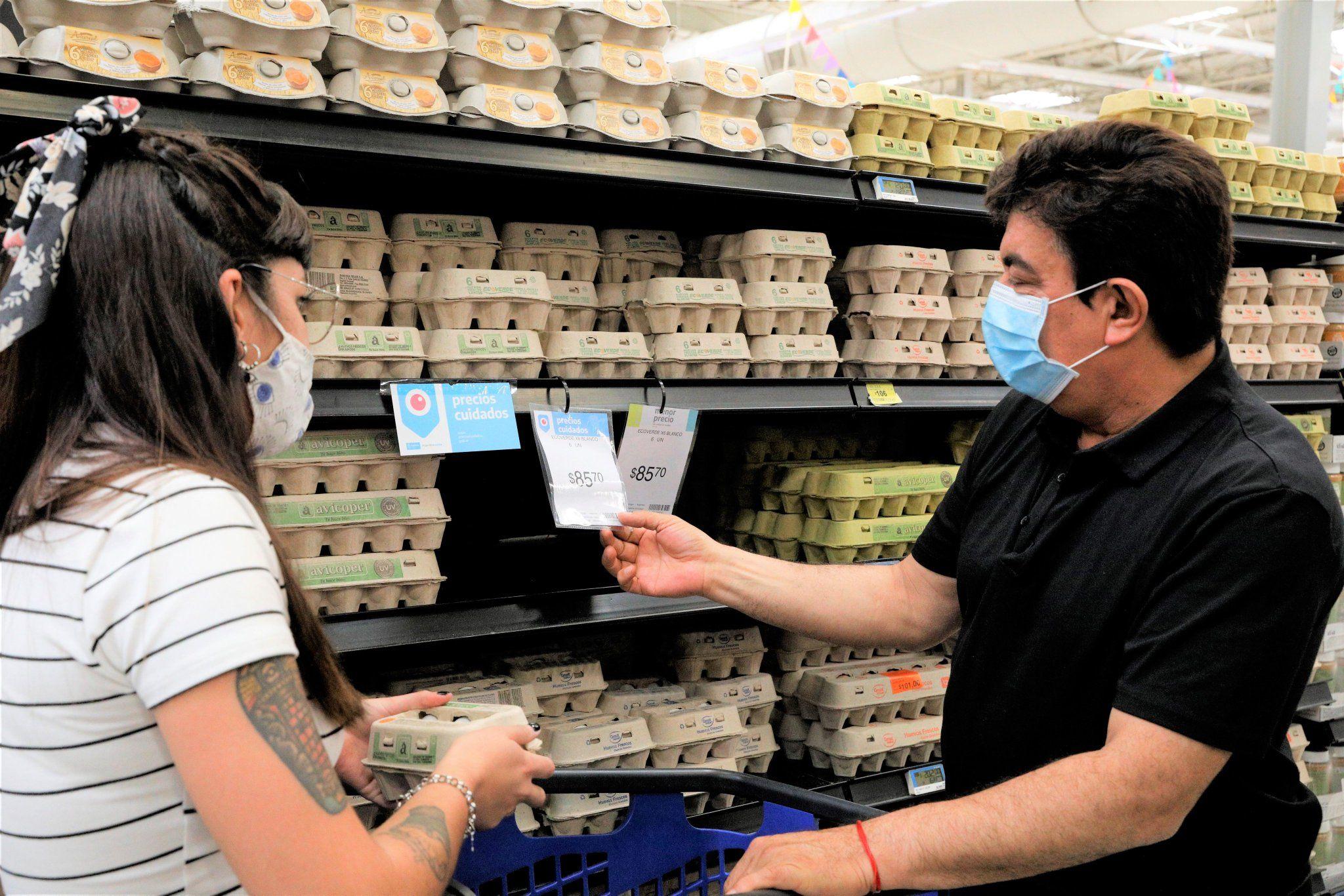 intendentes oficialistas salieron a controlar precios en los supermercados