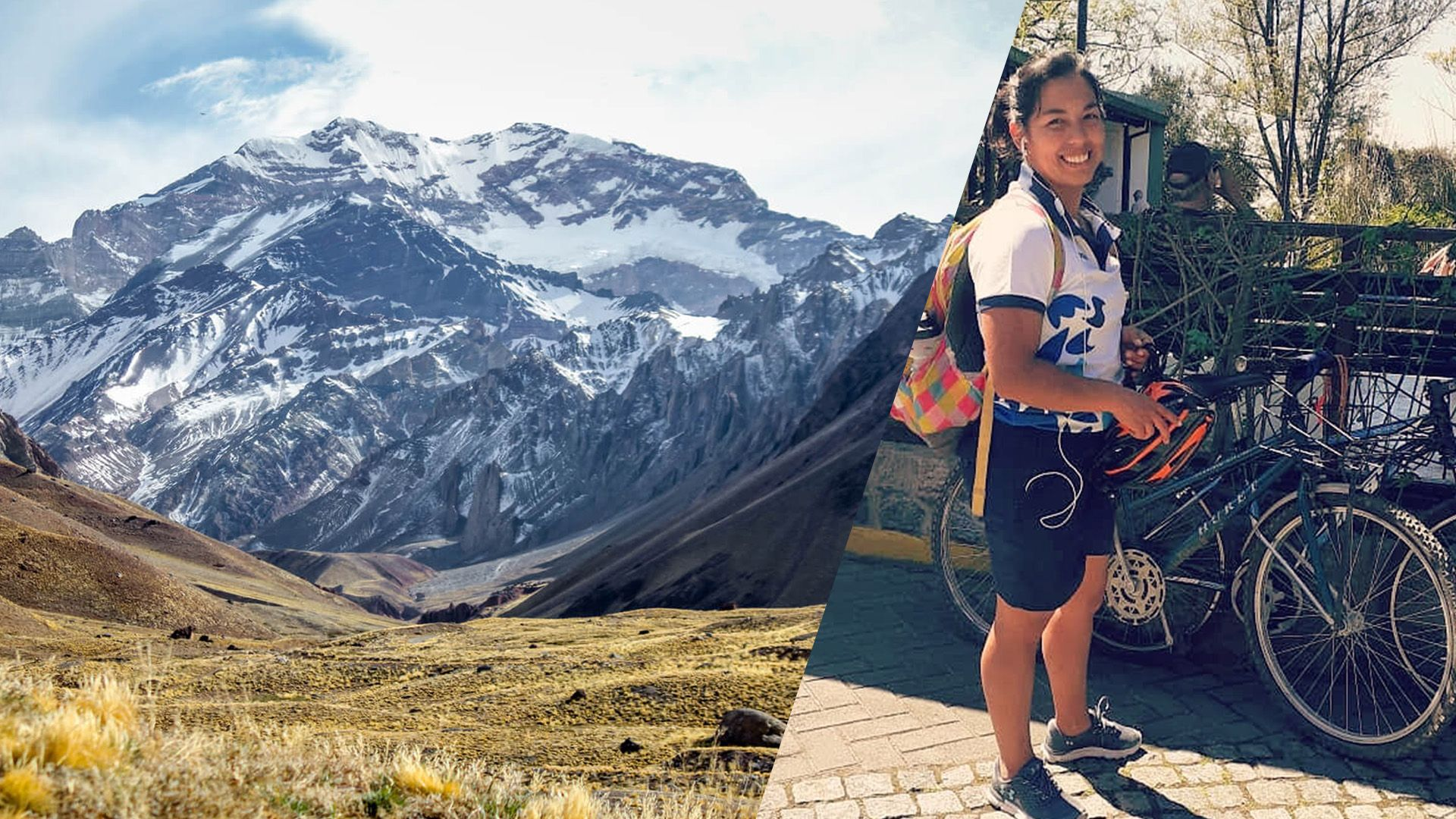 En apenas unas semanas, Emilia se graduará como odontóloga en la UNLP y su viaje de egresados será subir el Aconcagua