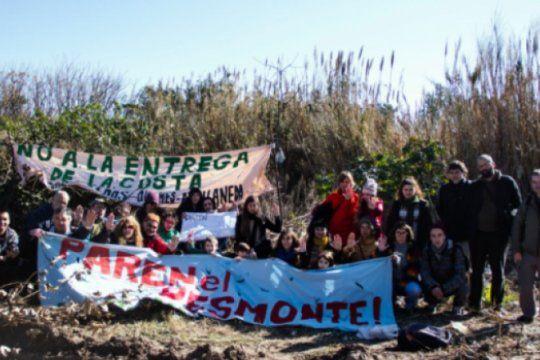 ambientalistas acusan a edesur por un desmonte ilegal y organizan jornada de reforestacion