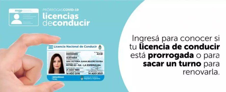Hay una nueva web para sacar turnos de renovación de la licencia en Mar del Plata.