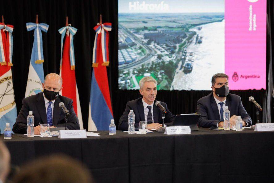 Hidrovía Paraná-Paraguay: comenzó el Consejo Federal de la mano de Meoni