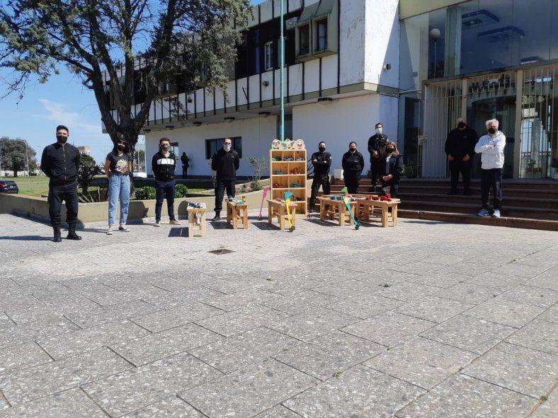 Presos de la Unidad 13 llevaron adelante el trabajo solidario