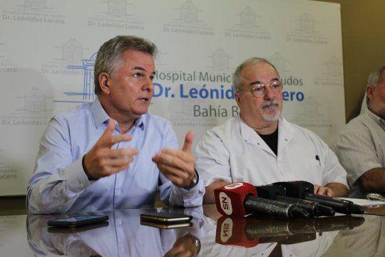 El intendente de Bahía Blanca, Héctor Gay
