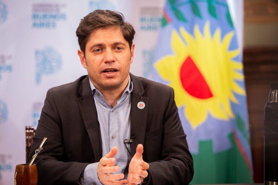 Axel Kicillof señaló que el gobierno llega a los 135 municipios.