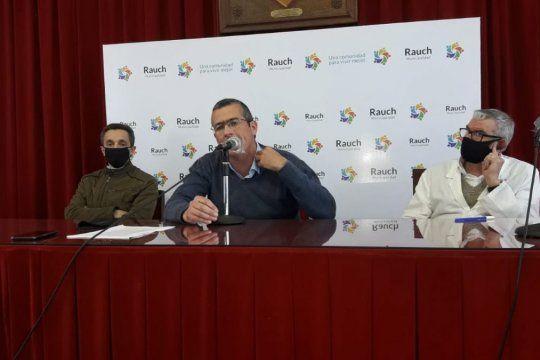 Rauch: el intendente Suescún dio positivo de coronavirus
