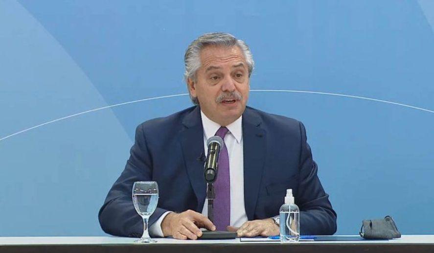 El presidente, Alberto Fernández, encabeza una serie de actos este martes