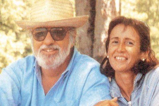 El documental es sobre el matrimonio de María Marta Garcia Belzunze y Carlos Carrascosa, aquí en épocas más felices