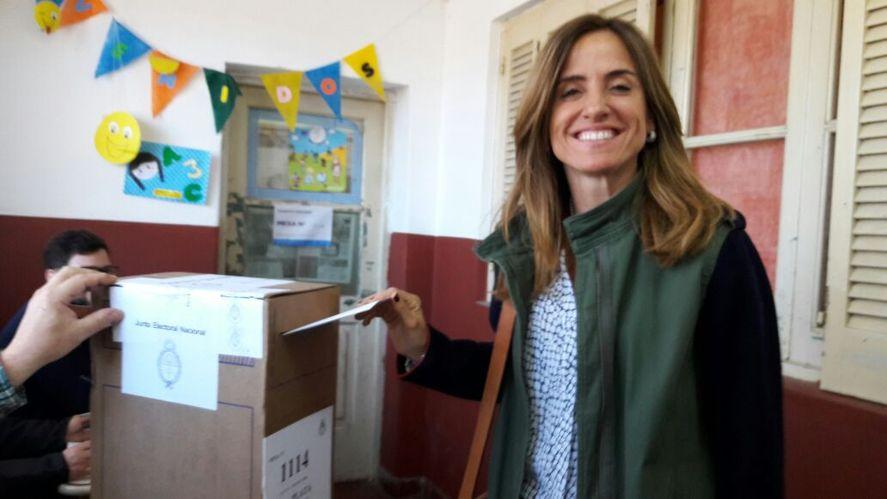 Victoria Tolosa Paz, al igual que en 2019, estas elecciones votará en La Plata.