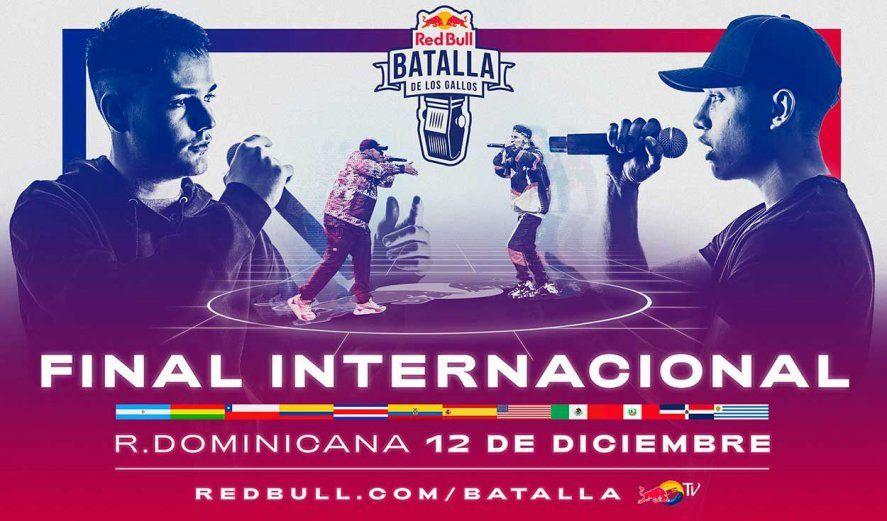 Red Bull: A qué hora y por donde se podrá ver la final