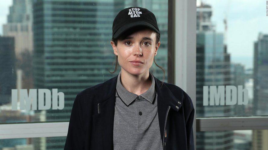 Elliot Page se declaró gay en 2014 y trans en 2020