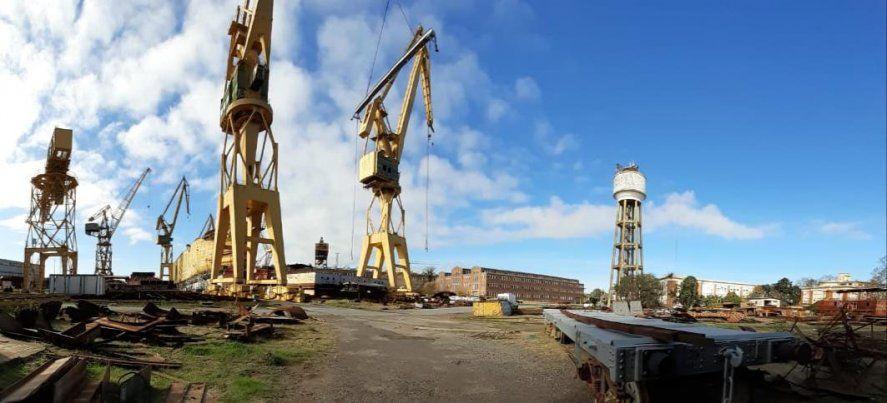 Astillero Río Santiago retoma la actividad tras cuatro años de abandono