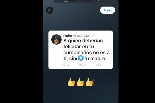 Las Fleets de Twitter son muy similares a las Instagram Stories.