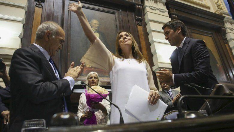 Vidal: No estoy acá para usar a la Provincia como un trampolín de votos