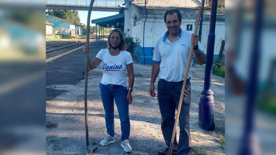 Castelli: Por primera vez una mujer guardabarrera custodiará las vías
