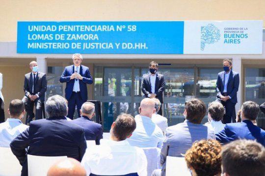 Se inauguró una cárcel en Lomas de Zamora y se ampliaron 840 plazas