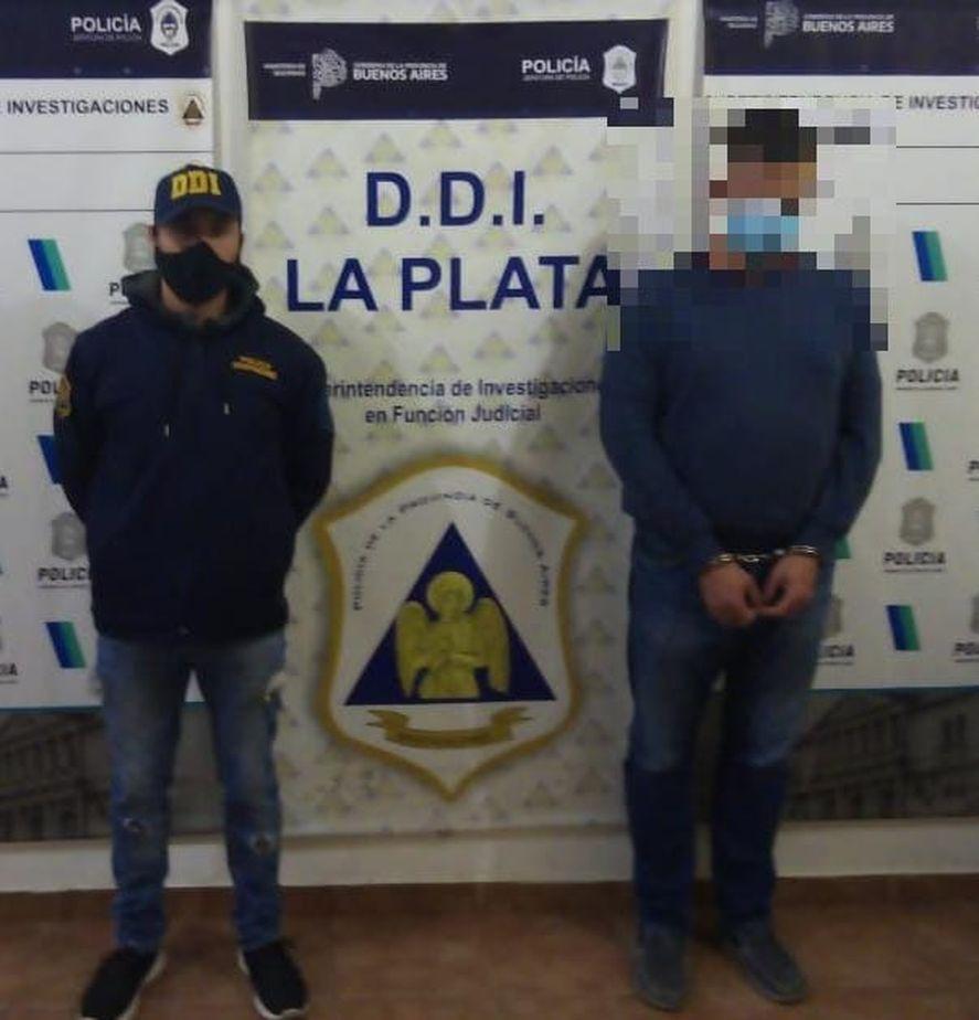 Fernando Cuacci fue detenido por la DDI de La Plata en 18 y 70