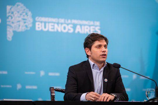 Desde Casa de Gobierno y a partir de las 19:00, el gobernador Axel Kicillof detallará las extensión de medidas contra el coronavirus.