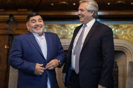 Alberto Fernández se quebró cuando habló con el ex utilero de Maradona