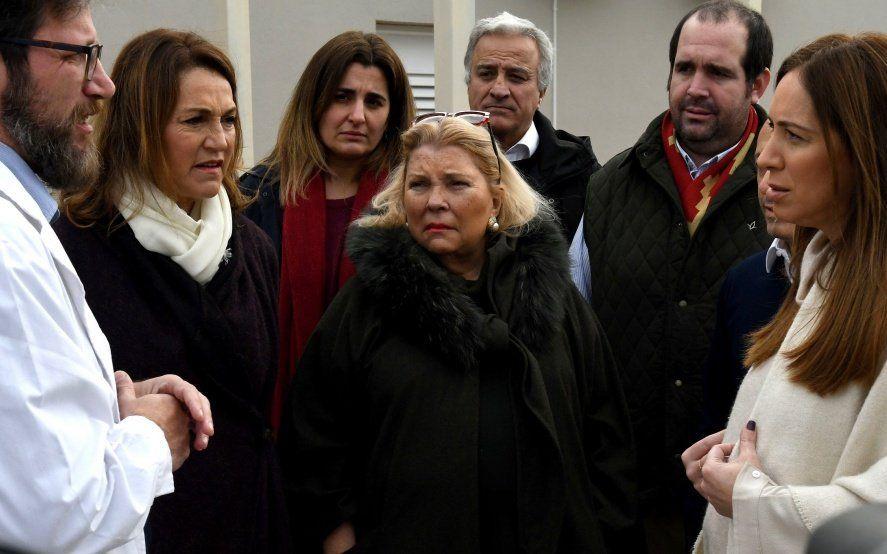 Kicillof se frota las manos: Carrió desembarca en Buenos Aires en plena campaña
