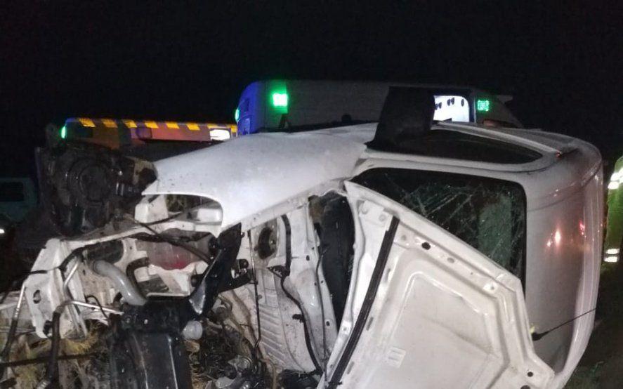 General Conesa: un choque frontal provocó el saldo de dos muertos y cinco lesionados