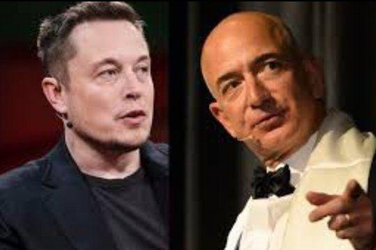 Elon Musk, el dueño de Tesla, superó esta semana a Jeff Bezos de Amazon como el hombre más rico del mundo