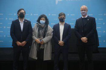 Carla Vizzotti destacó la gestión de Daniel Gollán y Nicolás Kreplak en la salud de la provincia de Buenos Aires.