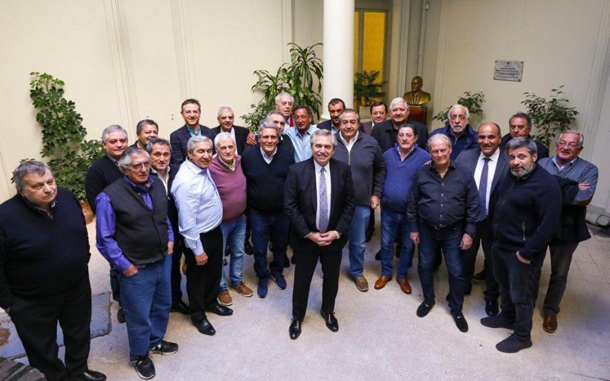 """Gran respaldo de la CGT a los Fernández: """"El 99% de los sindicatos apoya la fórmula"""""""
