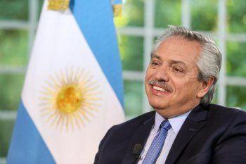 Alberto Fernández felicitó al intendente reelecto de Río Cuarto