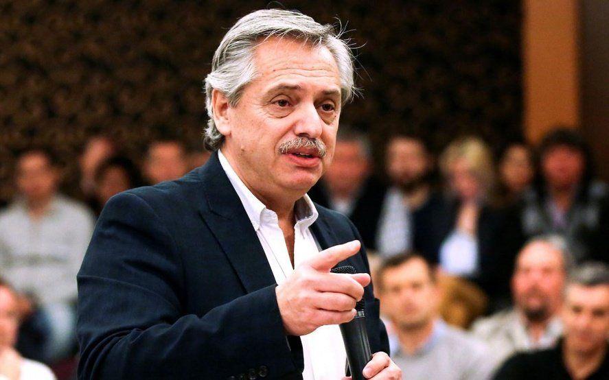 Alberto Fernández opinó sobre el acuerdo del FMI, su relación con CFK y su hijo