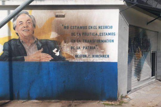 Avellaneda: incendian la unidad básica Diego Maradona