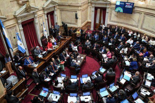 jubilaciones de privilegio: el oficialismo busca que el senado de dictamen para tratarlo en el recinto