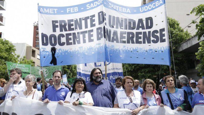 Sin convocatoria a paritaria, docentes bonaerenses definen hoy si hacen un paro por 48 horas