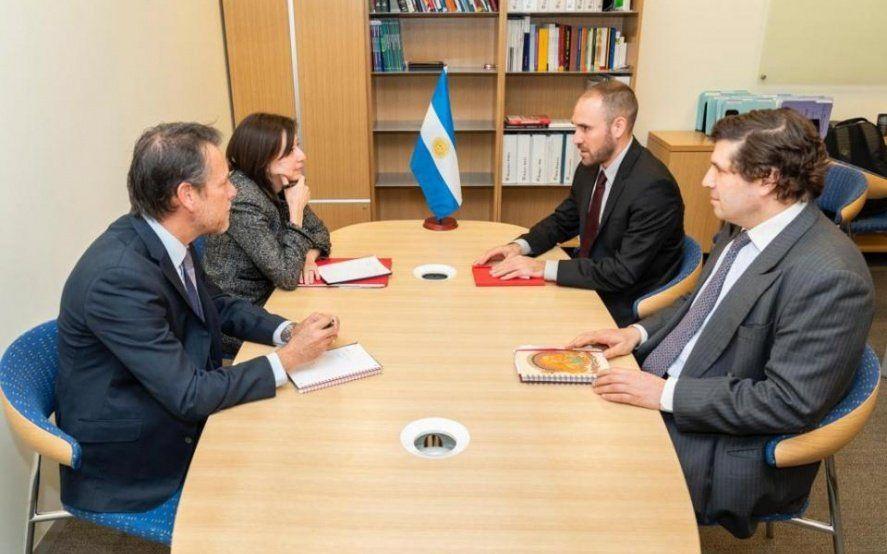 El FMI calificó como muy productiva la reunión con Martín Guzmán en Washington