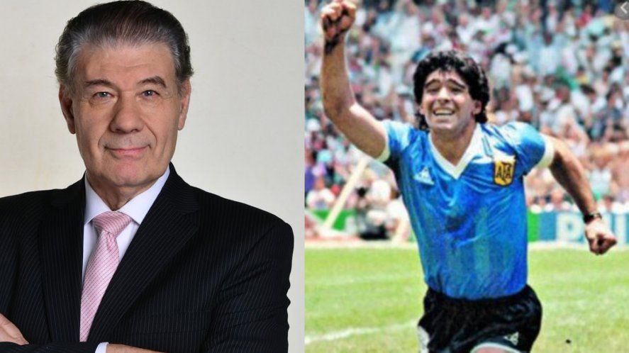 Víctor Hugo Morales recordó y homenajeó a Diego Armando Maradona.