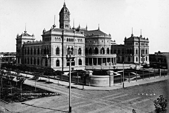 ¡estas igual!: descubri como se veia la ciudad de la plata hace mas de 100 anos