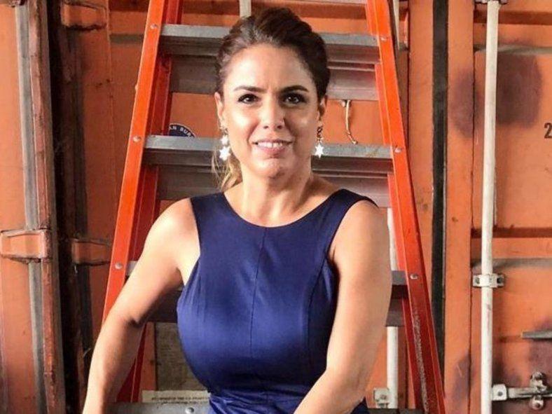 Marina Calabró se encuentra aislada desde el miércoles pasado por contacto estrecho.