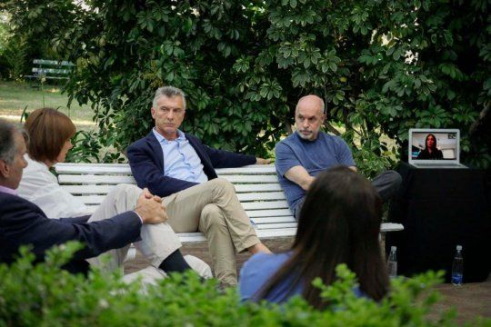 Cumbre del PRO con Macri, Larreta y Vidal