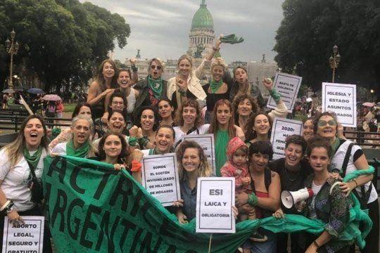los videos de actrices argentinas para pedir por el aborto legal