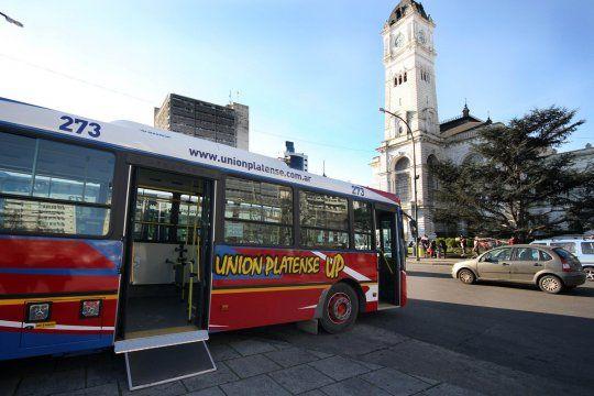 Situación del transporte público en La Plata