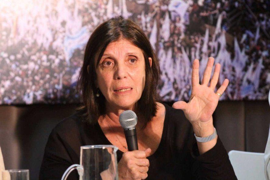 La ministra de Gobierno de la provincia, Teresa García