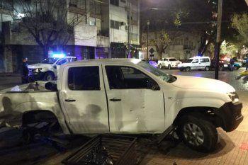 La Plata: alcoholizados, chocan al Secretario de Seguridad