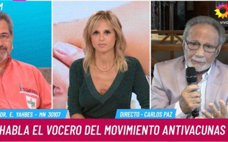 Polémica en Twitter: repudiaron la presencia de un médico antivacunas en el programa de Mariana Fabbiani