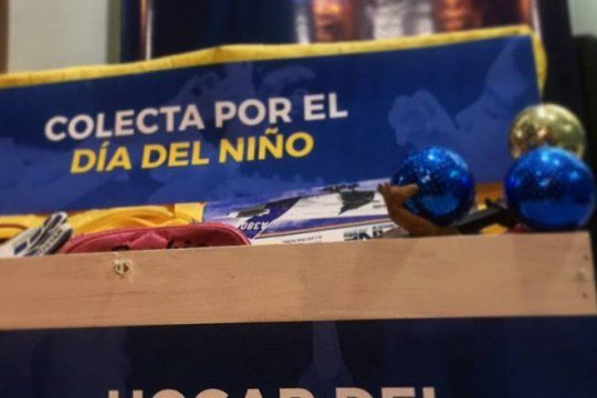 colecta solidaria por el ?dia del nino?: fm cielo junta juguetes para 250 ninos del hogar del padre cajade