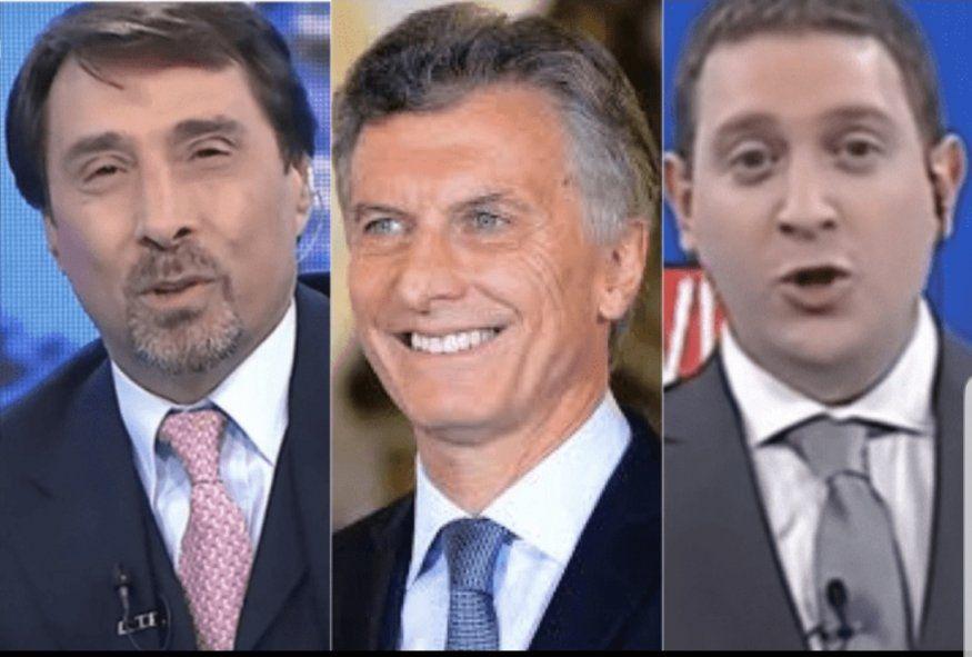 Macri arma su troupe de periodistas en el canal La Nación +